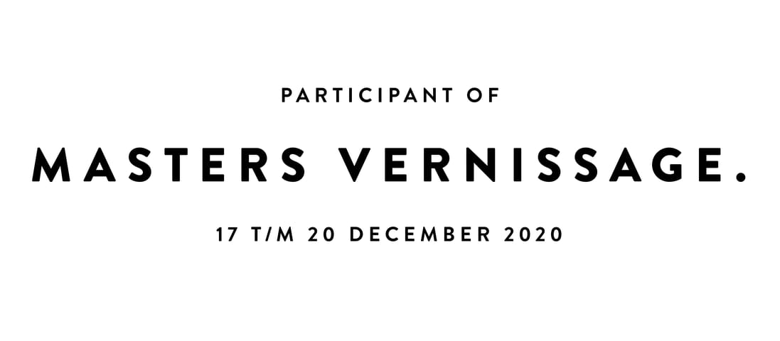 Participant of masters vernissage